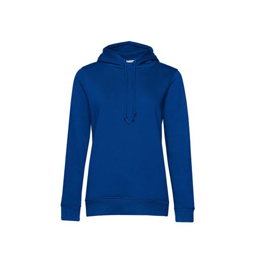 Basic hoodie organisch blauw