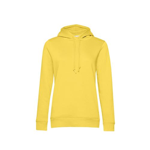 Basic hoodie organisch geel