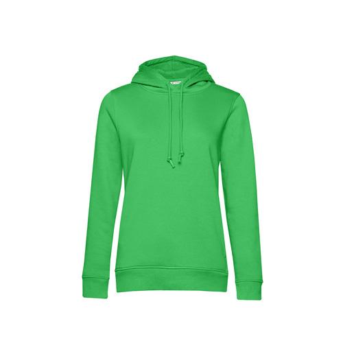 Basic hoodie organisch groen