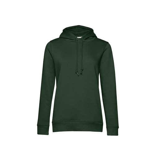 Basic hoodie organisch legergroen