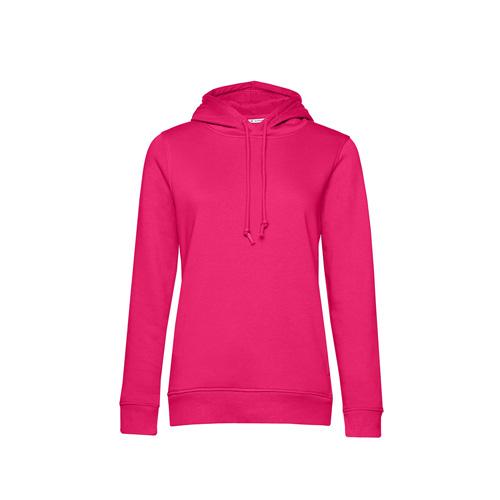 Basic hoodie organisch roze