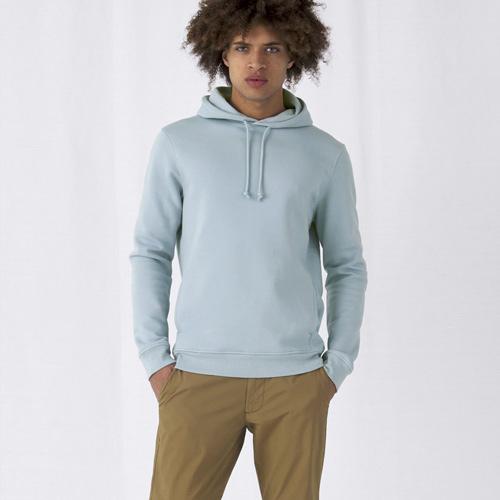 Basic hoodie organisch unisex bedrukken