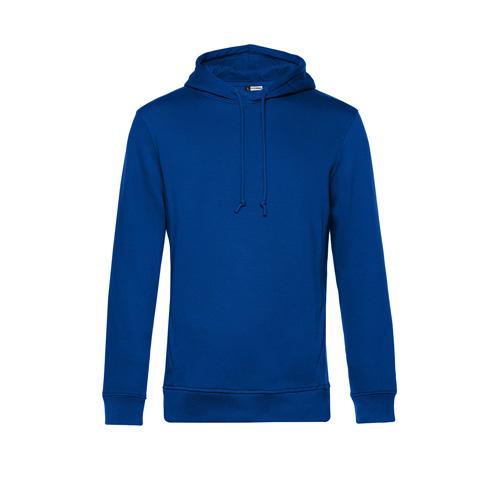 Basic hoodie organisch unisex blauw
