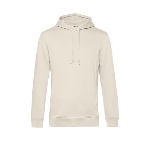 Basic hoodie organisch unisex gebroken wit
