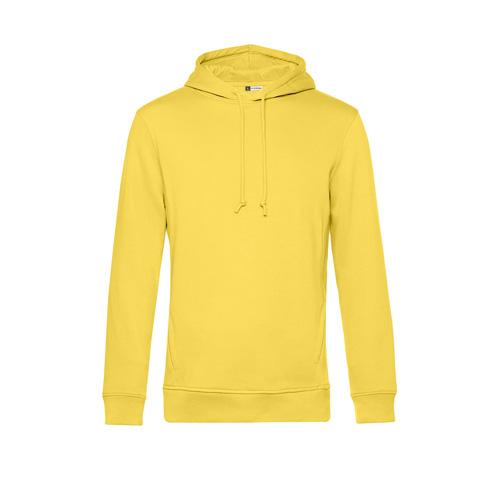 Basic hoodie organisch unisex geel