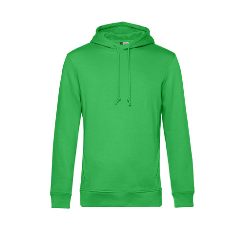 Basic hoodie organisch unisex groen