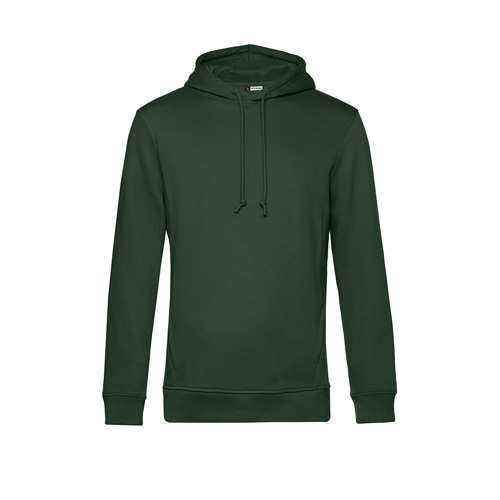 Basic hoodie organisch unisex legergroen