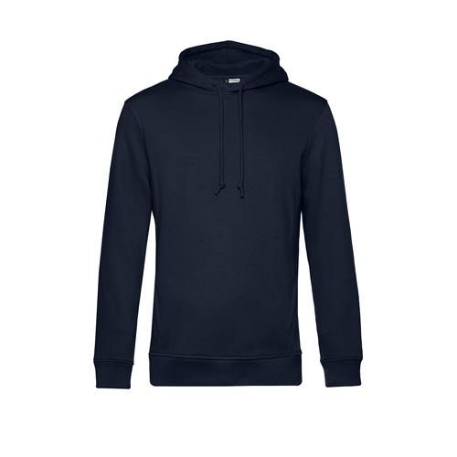 Basic hoodie organisch unisex navy blauw