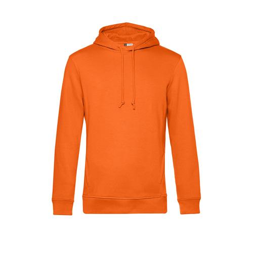 Basic hoodie organisch unisex oranje