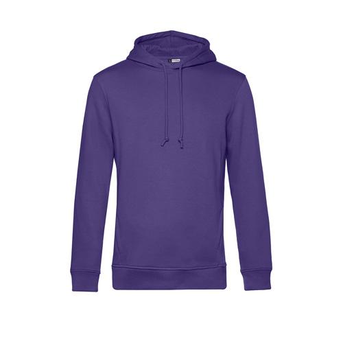 Basic hoodie organisch unisex paars