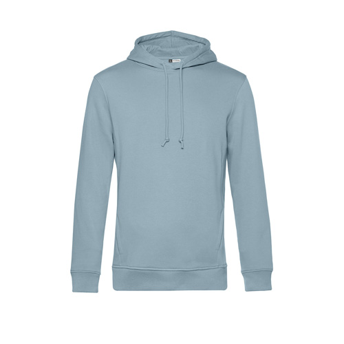Basic hoodie organisch unisex pastel blauw