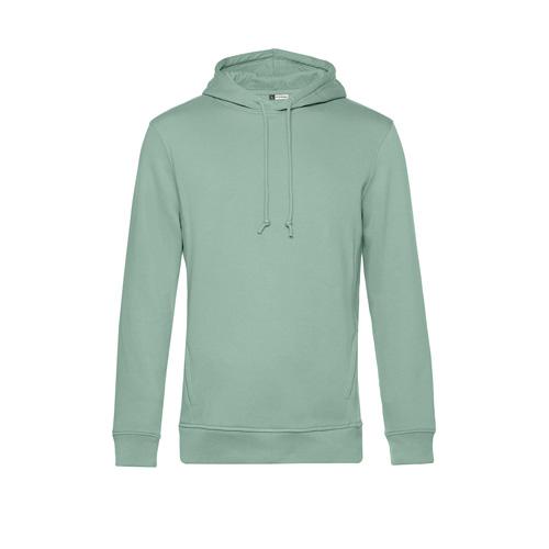 Basic hoodie organisch unisex pastel groen