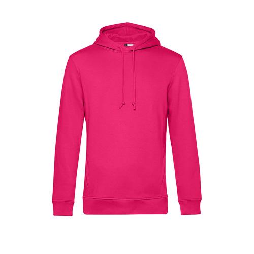 Basic hoodie organisch unisex roze