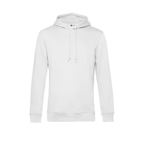 Basic hoodie organisch unisex wit