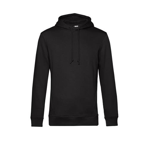 Basic hoodie organisch unisex zwart