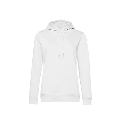 Basic hoodie organisch wit