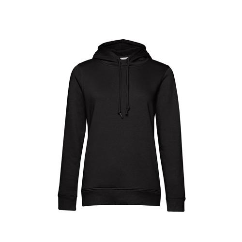 Basic hoodie organisch zwart