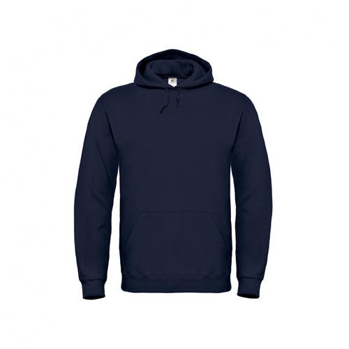 Basic-hoodie-unisex-donkerblauw