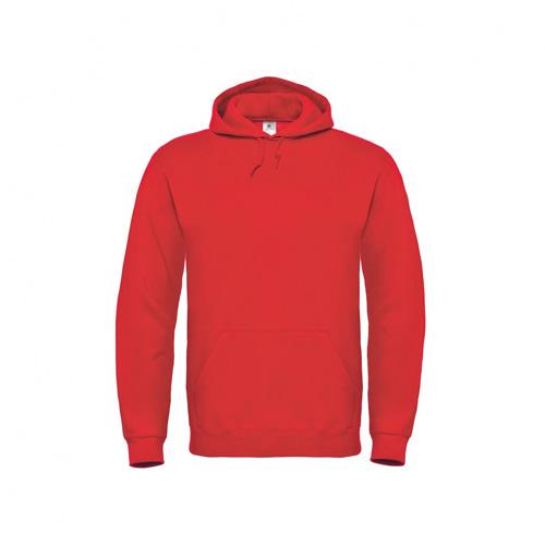 Basic-hoodie-unisex-rood