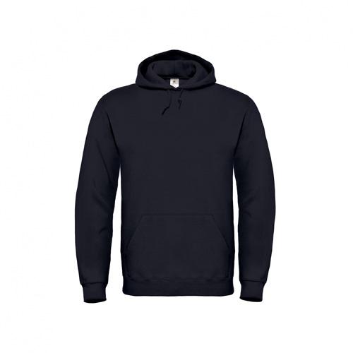 Basic-hoodie-unisex-zwart
