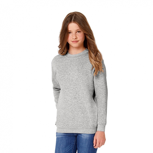 Basic sweater kids bedrukken