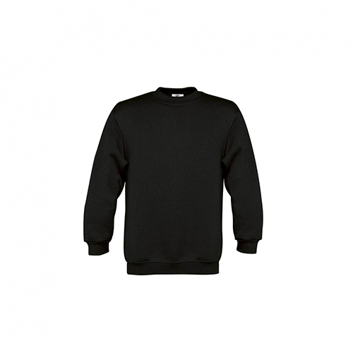 Basic sweater kids zwart