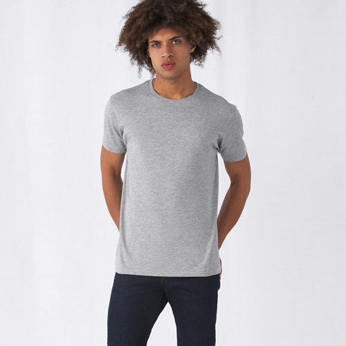 Basic t-shirt organisch bedrukken