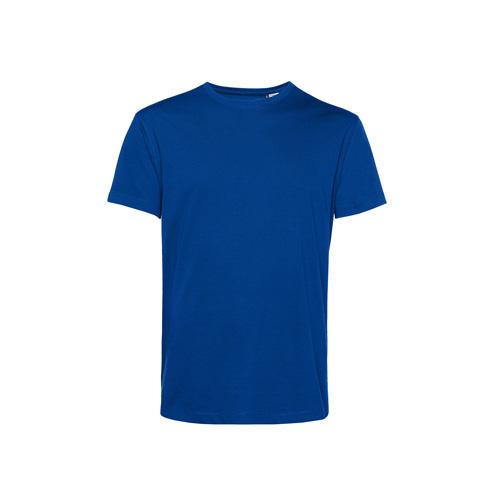Basic t-shirt organisch blauw