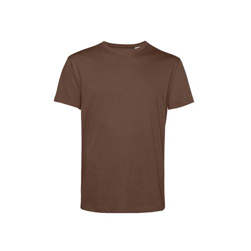 Basic t-shirt organisch bruin