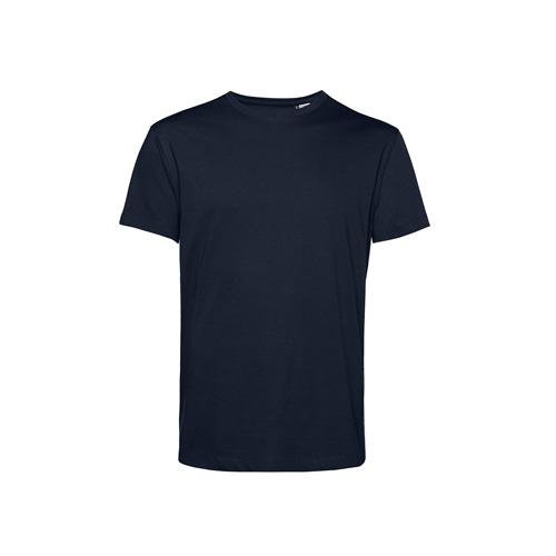 Basic t-shirt organisch donkerblauw