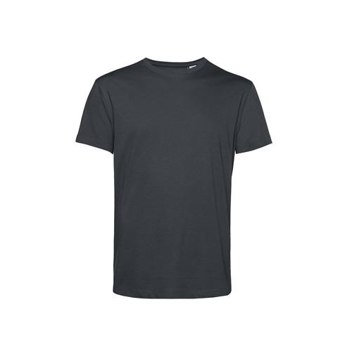 Basic t-shirt organisch donkergrijs