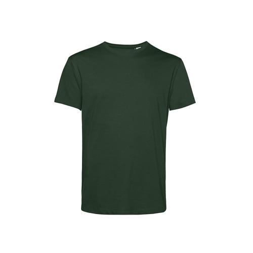 Basic t-shirt organisch donkergroen