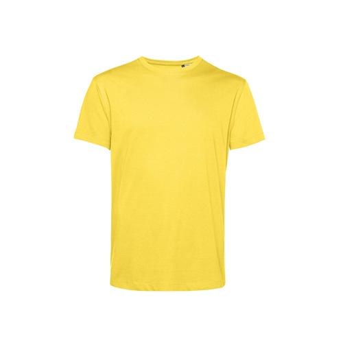 Basic t-shirt organisch geel