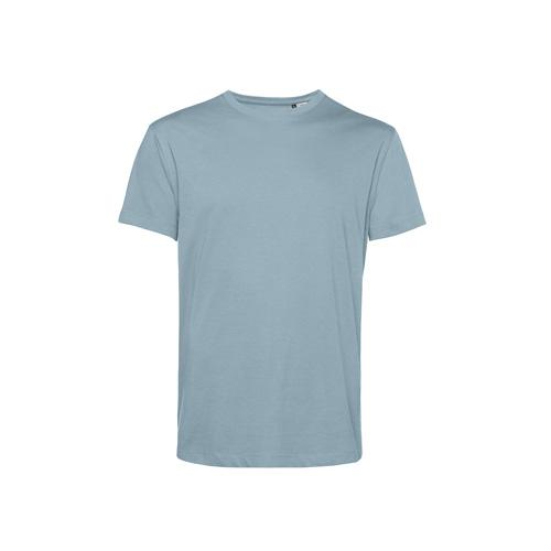 Basic t-shirt organisch pastel blauw
