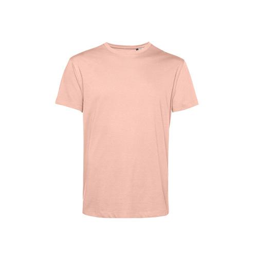 Basic t-shirt organisch pastel roze