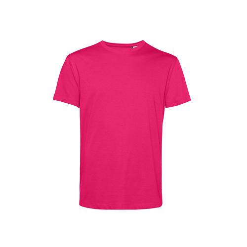 Basic t-shirt organisch roze