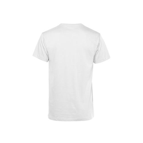 Basic t-shirt organisch wit achterkant