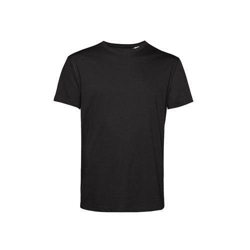 Basic t-shirt organisch zwart