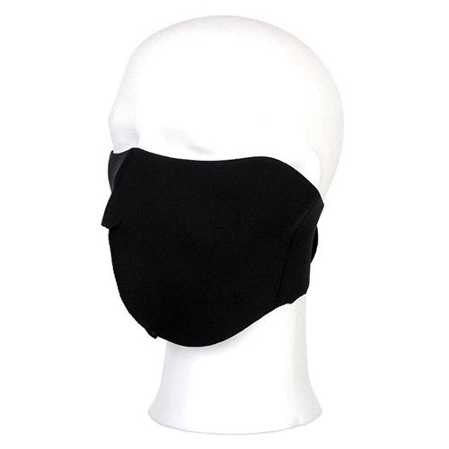 Biker masker zwart