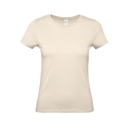 Budget t-shirt dames gebroken wit