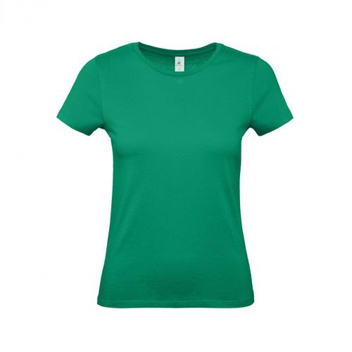 Budget t-shirt dames groen
