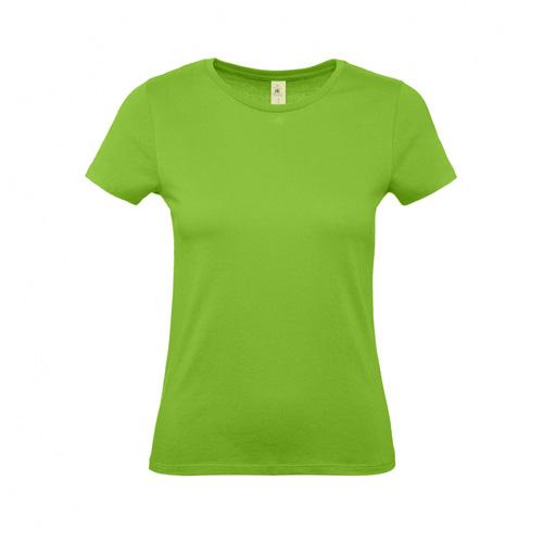 Budget t-shirt dames lichtgroen