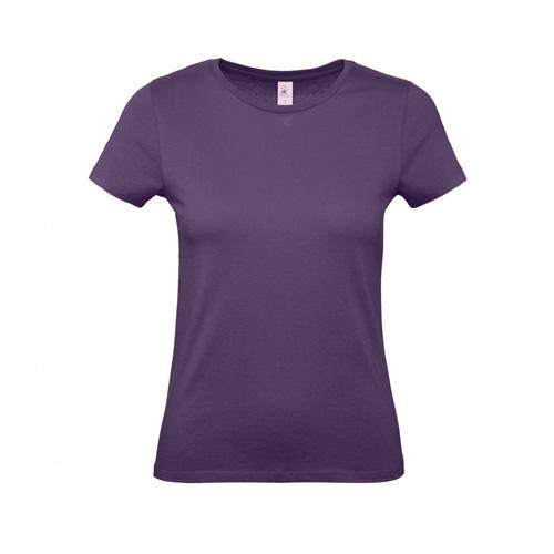Budget t-shirt dames paars