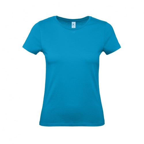 Budget t-shirt dames turqoise