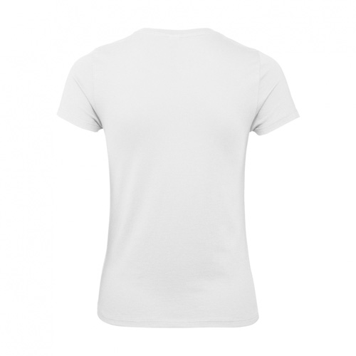 Budget t-shirt dames wit achterkant