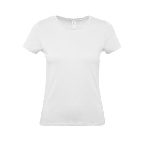 Budget t-shirt dames wit