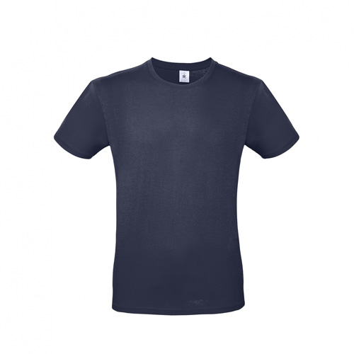 Budget t-shirt donkerblauw