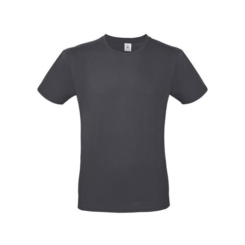 Budget t-shirt donkergrijs