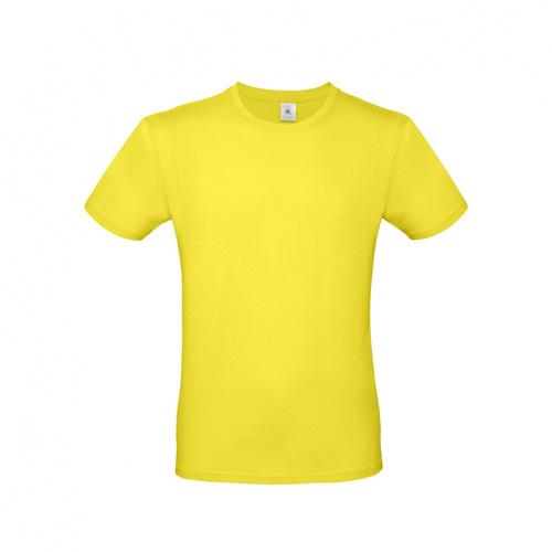 Budget t-shirt geel