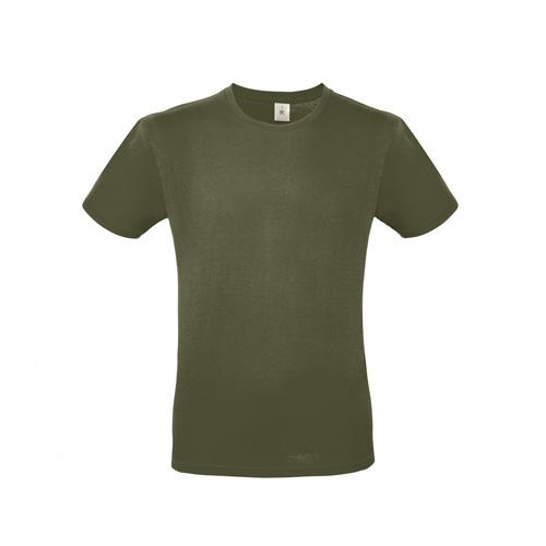 Budget t-shirt legergroen